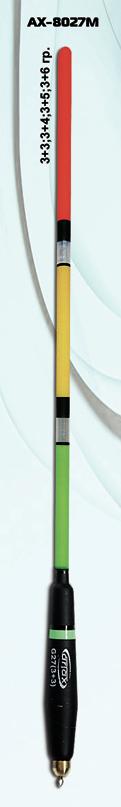 поплавок матчевый artax ax 8034м мультиколор