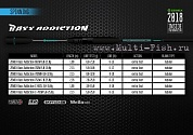 Спиннинг ZEMEX BASS ADDICTION 702M, 2,13м, 5-18гр.