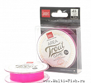 Леска плетеная (шнур) Lucky John Area Trout Game BRAID Pink 75м/0,09мм