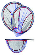 Сетка для подсачека COLMIC VELOX MESH 50x40cm (Oval Bottom)
