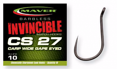 Крючки Maver INVINCIBLE HOOK SERIES CS27 номер 10