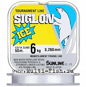 Монолеска SUNLINE Siglon ICE FISHING 50M CLEAR #2.5/0.260